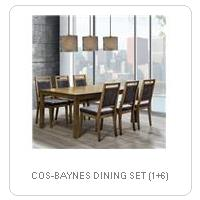 COS-BAYNES DINING SET (1+6)